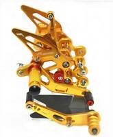 Rearsets Foot Pegs Rear Set Footrest For Suzuki GSXR600 GSXR750 2006 07 08-2010
