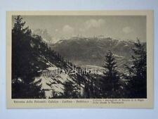 CALALZO CORTINA DOBBIACO Ferrovia dolomiti TRENO Belluno vecchia cartolina 1297