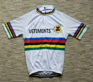 Team Z World Champion Cycling Jersey - Signed by Greg Lemond