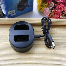 Batterie NB-2L Chargeur USB pour Canon Rebel XT XTi EOS 350D 400D MD120