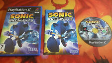SONIC UNLEASHED PLAYSTATION 2 PS2