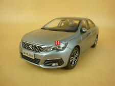 1:18 2017 all new PEUGEOT 308 silver color model car + gift