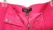 NWT Talbots Heritage Italy flannel wool stretch pant 10