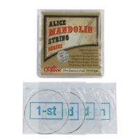 Alice Mandolin Strings Plated Steel & Silver-Plated Copper Wound Strings E A D G