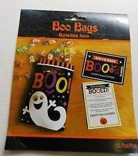 12 Halloween Boo Party Bags