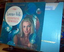 "Lawrence Welk Champagne Memories 1965 x4LP Set Longines 33 12"" LS209A"