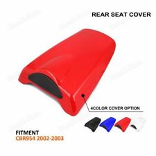 Motorcycle Pillion ABS Rear Seat Cover Cowl For Honda CBR954RR 2002 2003 BS