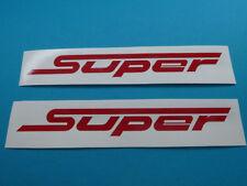 Zündapp Roller Bella Typ 561 R50 RS50 SUPER  Schriftzug Aufkleber Sticker ROT