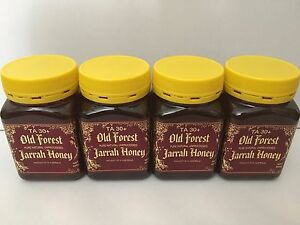4 Jars- NEW 2021 Jarrah Honey Pure Unprocessed Healthy Total Activity TA30+ 500g