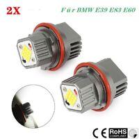 Paar CREE 240W LED Angel Eyes Standlicht Für BMW E39 E83 E60 E61 E53 E64 E65 E66