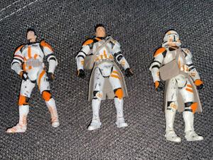 Star Wars 3 Action Figuren Clone Trooper