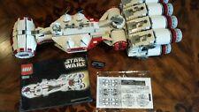 LEGO STAR WARS LOT UCS REBEL BLOCKADE RUNNER 10019 TANTIVE IV 100% complete