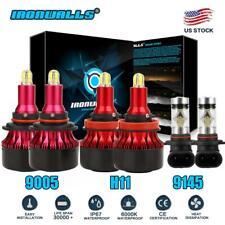 6X 4 Sides LED Headlight Fog Bulbs For 2011-2018 Ram 5500 4500 3500 2500 1500 US