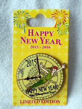 Disney's Happy New Year Peter Pan Limited Edition Pin 2015 - 2016