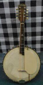 Vintage Regina Banjo Mandolin / Banjolin with Original Hardshell Case USA