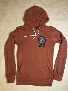 Tulones Hoodie Sweatshirt, XS, Muted Orange
