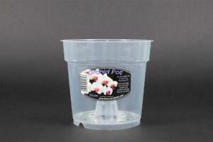 clear orchid pots. 9/12/13/15/17/19/21cm flower pots garden plastic pots