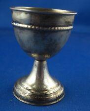 Becher Eierbecher Silber unbekannte Punze