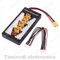 Ciabatta per caricabatterie Lipo fino da 2 a 6 celle 2S a 6S come Imax B6 B6AC