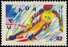 "CANADA 1403 - Albertville Olympics ""Alpine Skiing"" (pa88585)"