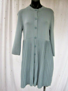 COS, NWOT, S (approx 10), A Gorgeous Pleated Design In A Viscose Blend Knit.