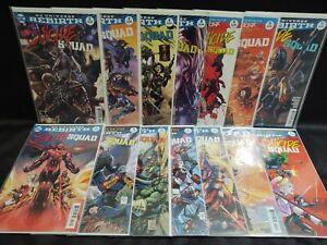 Suicide Squad Rebirth 2016 Series 14 Comic Lot #2 4 8 9 10 14 17 18 19 20 21 Lee