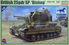 BRONCO CB35077 British 25pdr SP Bishop in 1:35