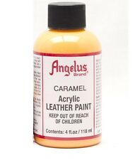 Angelus Acrylic Leather Paint for Shoes / Sneakers - Caramel - 4oz