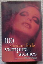100 Vicious Little Vampire Stories HC - Manly Wade Wellman Karl Edward Wagner