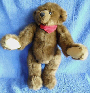 *1719b*  Jointed Bear - Cottage Collectibles Christy Rave - Ganz -34cm - plush