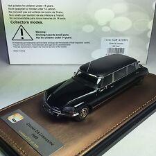 1/43 GLM Citroen DS Limousine 1959 Black Ltd 299 pcs GLM220001