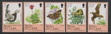 Birds Decimal Tristanian Stamps