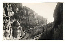 Cheddar Gorge - Real Photo Postcard c1920 / Somerset