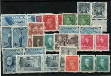 Canada mid period unchecked mint collection on stockcard WS24572