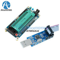 ATmega32 ATMEGA16 Minimum System Board +10Pin USB ISP USBasp Programmer Cable
