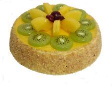 Attrappe Obsttorte Kiwi,Ananas,Kirsche -  künstliche Torte Kuchen Dekoration