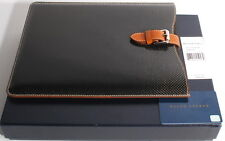 Ralph Lauren Made in Italy Carbon Fiber & Napa Leather Media Ipad Case Cover D1D