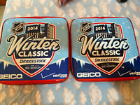 2 / 2014 NHL WINTER CLASSIC The Big House Seat Cushion Red Wings Vs Maple Leafs