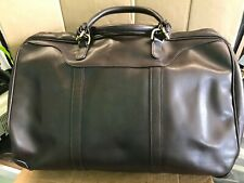 Mulholland Brown Leather Duffle Travel Bag