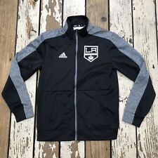 NHL Los Angeles LA KINGS Hockey • Men's ADIDAS ClimaWarm JACKET size SMALL