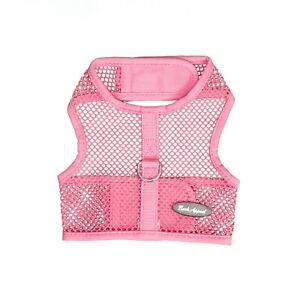 Bark Appeal Wrap n Go Netted Dog Step In Harness Pink Sizes XS-XL