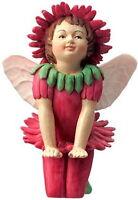 Cicely Mary Barker Daisy Double Flower Garden Fairy Ornament Figurine NIB!