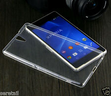 Transparent Soft Silicone Back Case Cover FOR SONY XPERIA C5 ULTRA DUAL