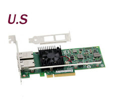 Intel/Dell X540-T2 Genuine CONVERGED DUAL PORT NETWORK ADAPTER K7H46/3DFV8 10GbE