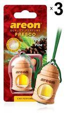 x 3 Areon Fresco Pino COCHE AROMA PERFUME Árbol Ambientador perfume aroma
