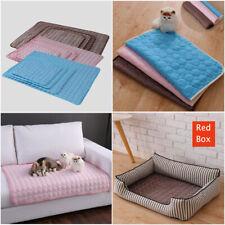 Non-Toxic Skin Care Self Comfortable Pet Dog Cat Puppy Cushion Mat Blue M L XL