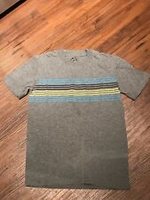 Falls Creek Boys Shirt Gray With Stripes Small 6/7