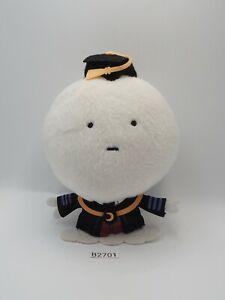 """Assassination Classroom B2701 Koro Sensei White Banpresto 2014 Plush 6"""" Toy Doll"""