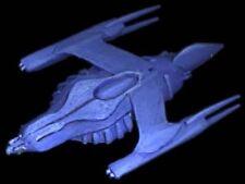 Neshatan Babylon-5 Gunship Spacecraft Mahogany Kiln Dry Wood Model Large New