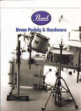 VINTAGE MUSICAL INSTRUMENT CATALOG #10587 -  PEARL DRUM PEDALS and HARDWARE